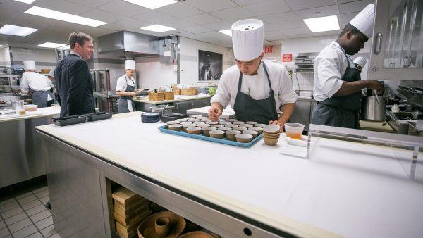 La cocina del Eleven Madison Park