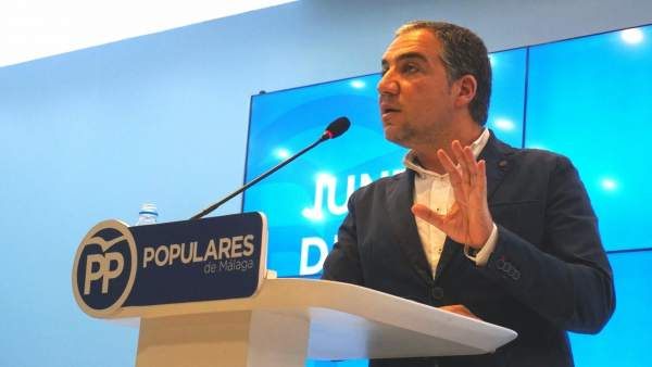 Elías Bendodo, PP Málaga, portavoz PP-A