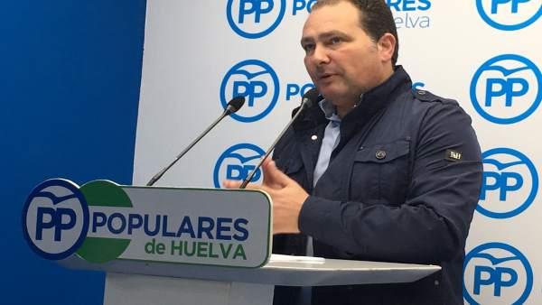 David Toscano, secretario general del PP de Huelva.
