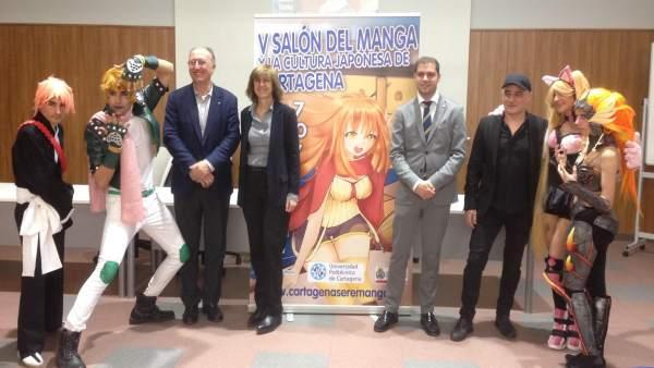 Presentación Salón del Manga