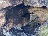 Incendio mortal en una cueva en Almería