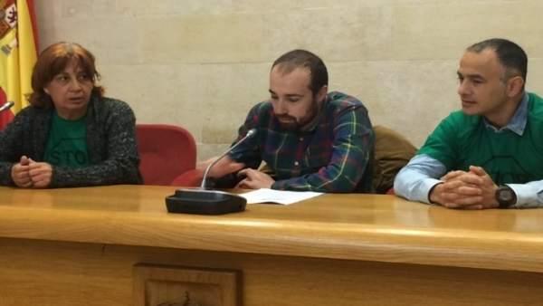 PAH presenta su ley de vivienda en el Parlamento de Cantabria