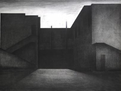 Eduard Angeli - Rear Courtyard, 2005