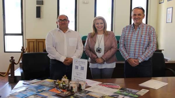 Gregorio Campos, Elisa Páez, Juan Peñas
