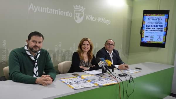 María Santana, Gregorio Campos, Jesús Peña