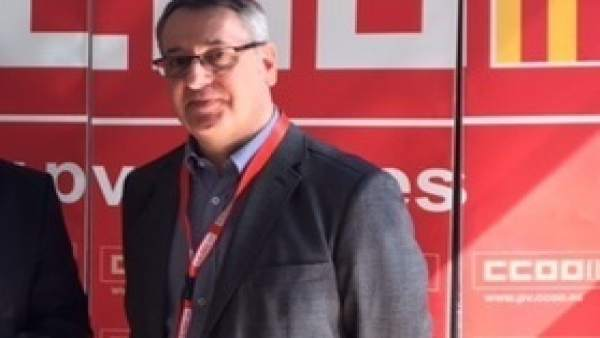 Arturo León, triat secretari general de CCOO PV
