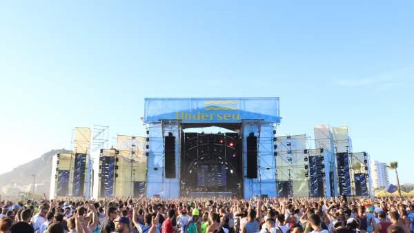 Escenario del Medusa Festival