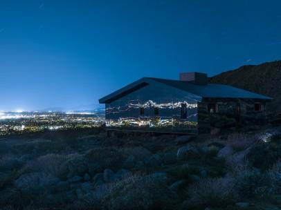 Mirage, 2 - Desert X installation view of Doug Aitken, 2017