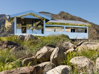 Mirage, 5 - Desert X installation view of Doug Aitken, 2017