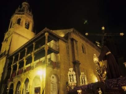 Semana Santa provincia de málaga trono señor cristo monumento pasión pueblos