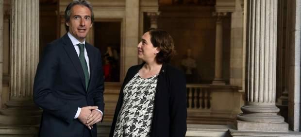 Íñigo de la Serna y Ada Colau.
