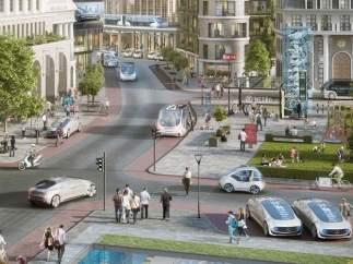 Los taxis del futuro de Bosch