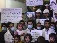 EE UU acusa al régimen sirio de preparar otro ataque químico