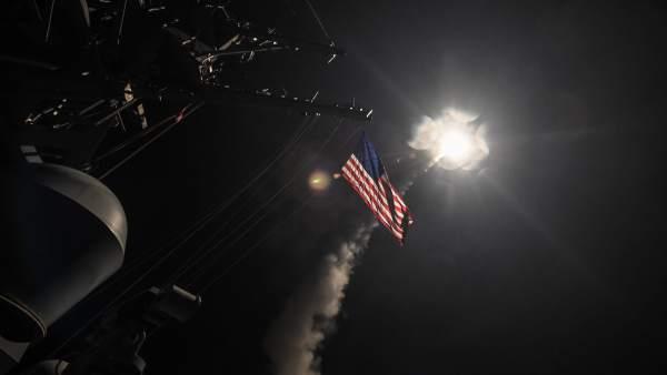 Bombardeo de EE UU en Siria