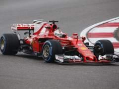 Vettel, en Shanghai