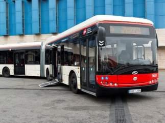 Autobús de TMB Solaris Urbino 18 híbrido