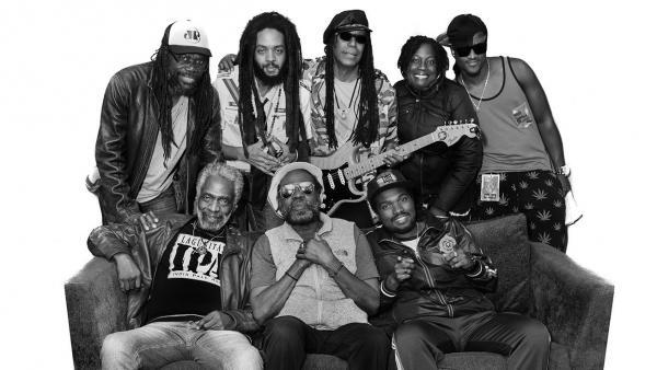 La banda de reggae The Wailers