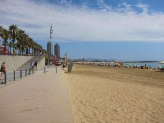 Playa De Barcelona.