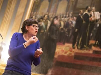Pilar Lima, candidata a la secretaría general de Podemos en la Comunitat Valenciana