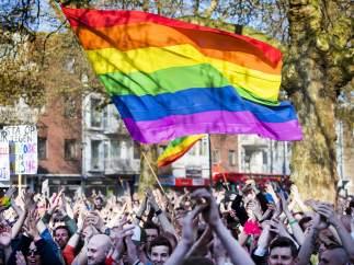 Bandera arco iris