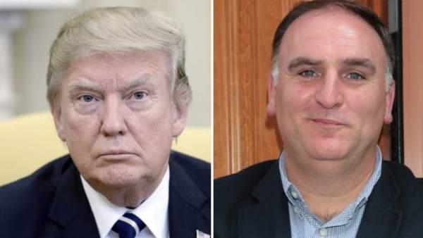 Trump y José Andrés