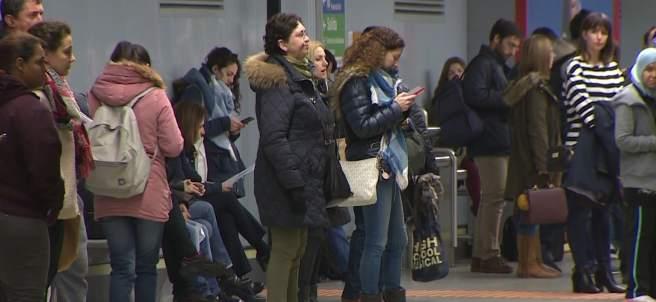 Primera jornada de huelga de metro sin incidentes