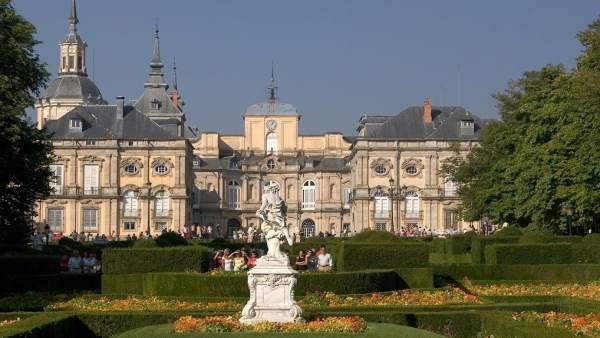 Palacio y jardines de La Granja.
