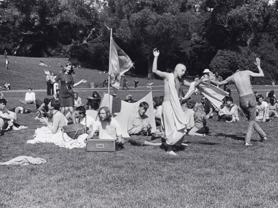 "Ruth-Marion Baruch, ""Hare Krishna Dance in Golden Gate Park, Haight Ashbury"", 1967"