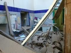 Desplome estación Cazalla
