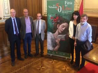 Presentación de la 50 edición de la Feria del Libro de Valladolid