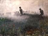 Harvey Thomas Dunn - On the Wire, 1918