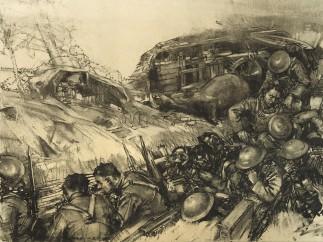 Harry Everett Townsend - Gas Alert, 1918