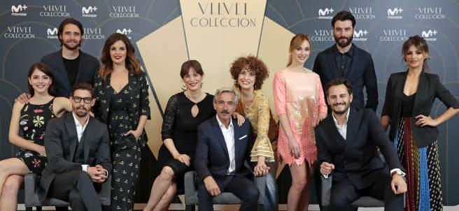 Los actores de Velvet en la presentación de la nueva secuela 'Velvet Colección'