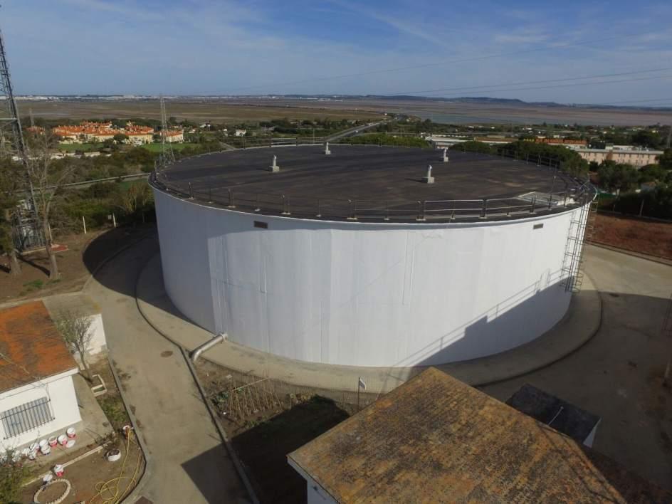 La junta pone en servicio el nuevo dep sito de agua de - Deposito de agua potable ...