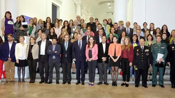 La comissió de seguiment convoca el Pacte valencià contra la violència de gènere