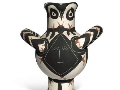"""""""Gros oiseau visage noir"""", obra de Picasso"""