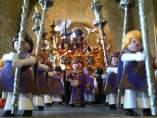 Muñecos de Playmobil en procesión