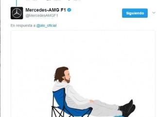 Tuit de Mercedes