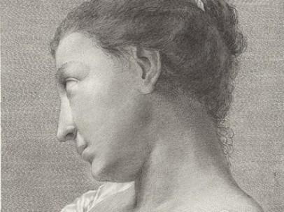 Teodoro Viero (Italian, 1740–1819) - Sospesa e incerta di lontano obbietto studia le forme e il cor l'agita in petto (Suspended and uncertain, she studies an object from afar as her heart beats against her breast), ca. 1770–80