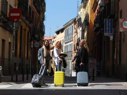 Turistas en Lavapiés