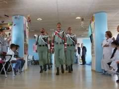 La Legión en el Hospital de Málaga