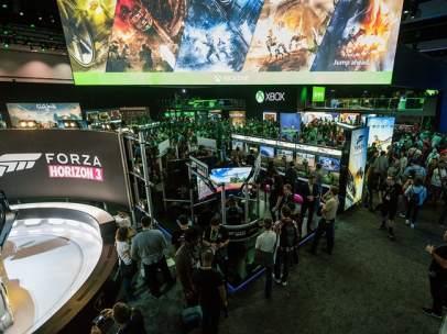 Feria E3 de videojuegos.