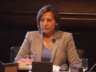 La presidenta del Parlament de Cataluña, Carme Forcadell