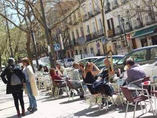 La calle, una terraza