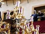 Sampaoli en la Semana Santa sevillana
