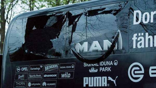 Atentado contra el autobús del Borussia Dortmund
