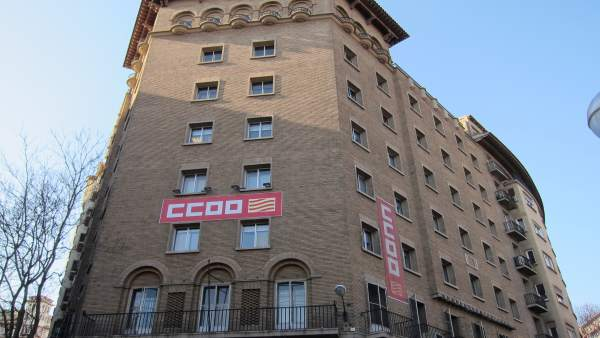 Sede de Comisiones Obreras en Aragón