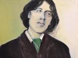 Oscar Wilde by Marlene Dumas, 2016