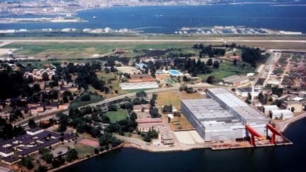 Fotografía aérea del Centro de Desarrollo Tecnológico Industrial.
