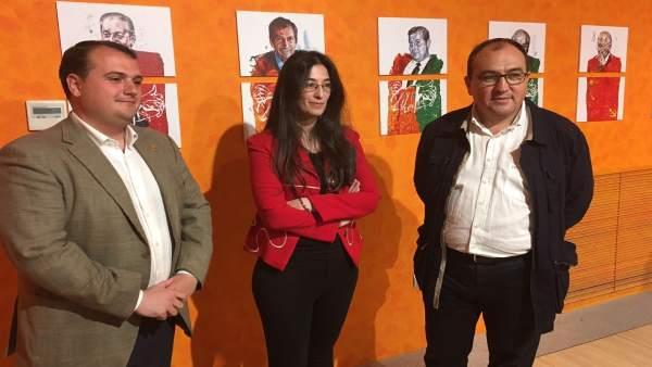 Presentación de la exposición en el Museo de Adolfo Suárez y la Transición